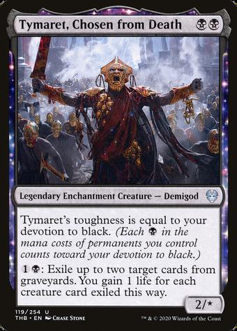 Tymaret, Chosen from Death image