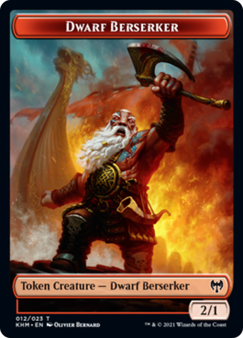 Dwarf Berserker Token image