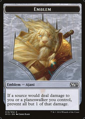Ajani Steadfast Emblem image
