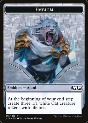 Ajani, Adversary of Tyrants Emblem image
