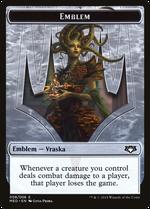 Vraska, Golgari Queen Emblem image