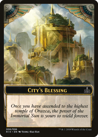 City's Blessing image