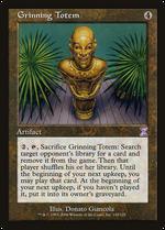 Grinning Totem image