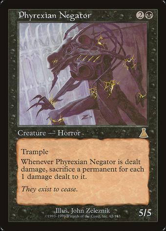 Phyrexian Negator image