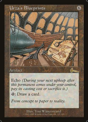 Urza's Blueprints image