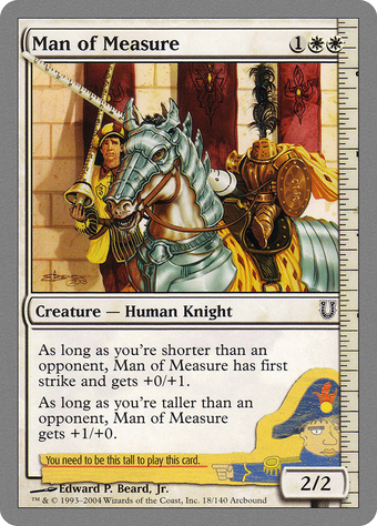 Man of Measure image