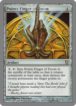 Pointy Finger of Doom image