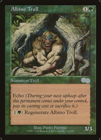 Albino Troll image