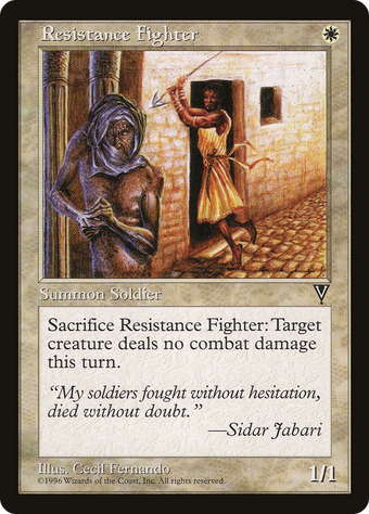 Resistance Fighter image