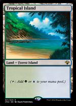 Tropical Island image