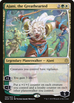 Ajani, the Greathearted image