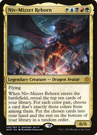 Niv-Mizzet Reborn image
