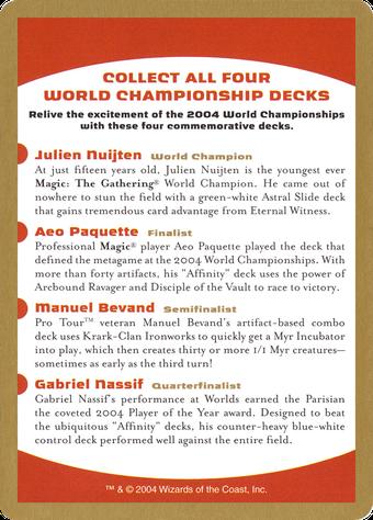 2004 World Championships Ad Card image