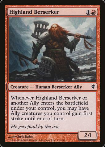 Highland Berserker image