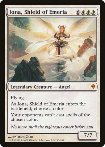 Iona, Shield of Emeria image