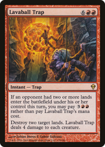 Lavaball Trap image