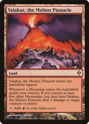 Valakut, the Molten Pinnacle image