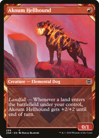 Akoum Hellhound image