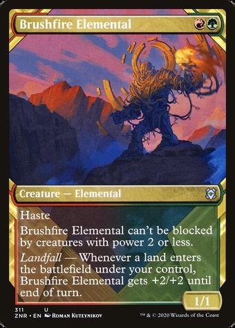 Brushfire Elemental image