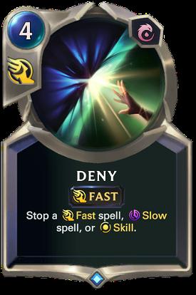 Deny image