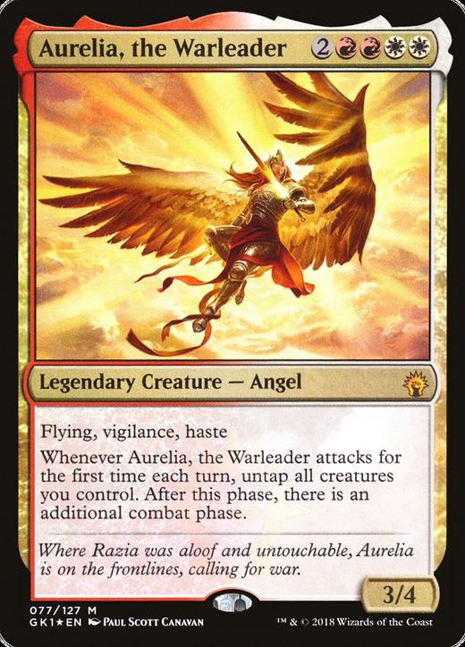 Aurelia, the Warleader image