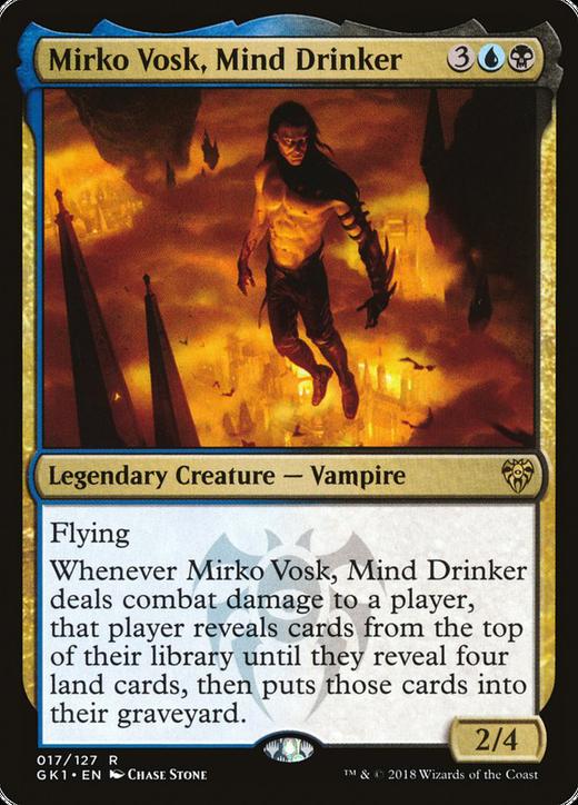 Mirko Vosk, Mind Drinker image