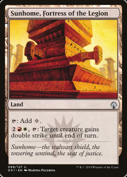 Sunhome, Fortress of the Legion image