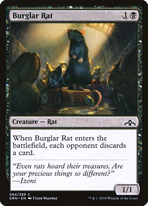 Burglar Rat image