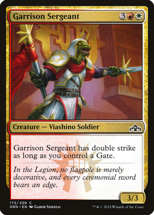 Garrison Sergeant image