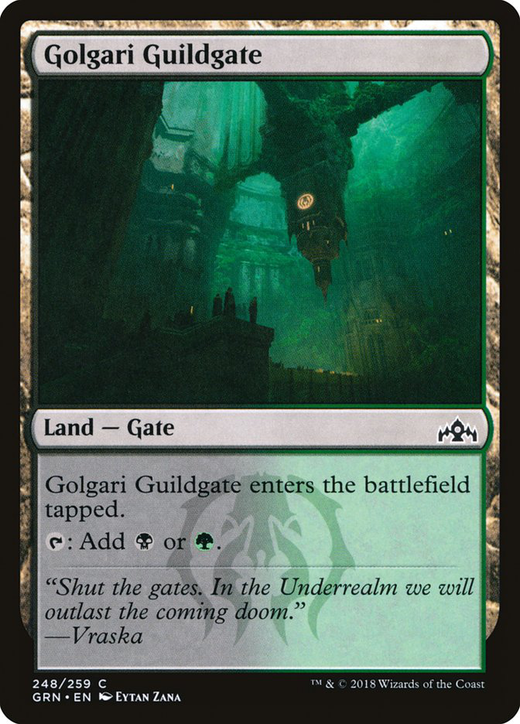 Golgari Guildgate image
