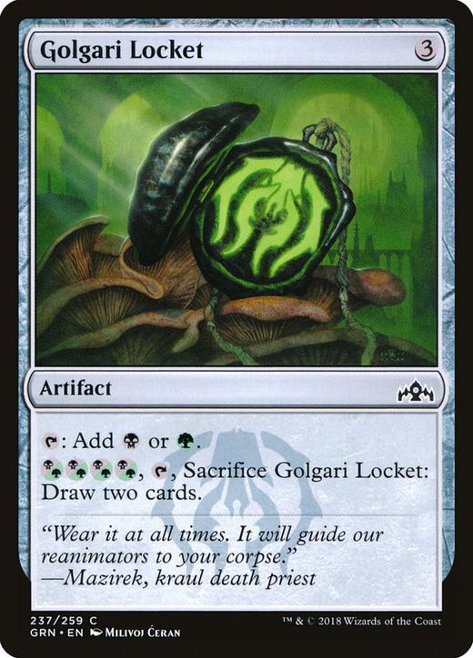 Golgari Locket image