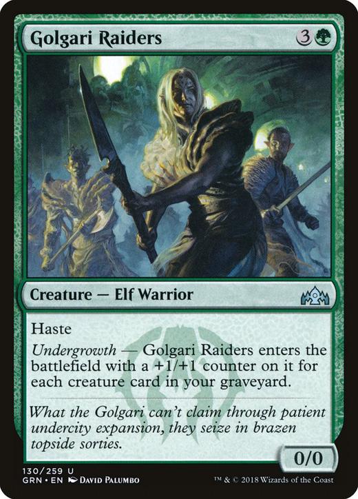 Golgari Raiders image