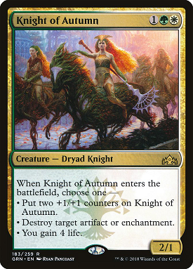 Knight of Autumn image