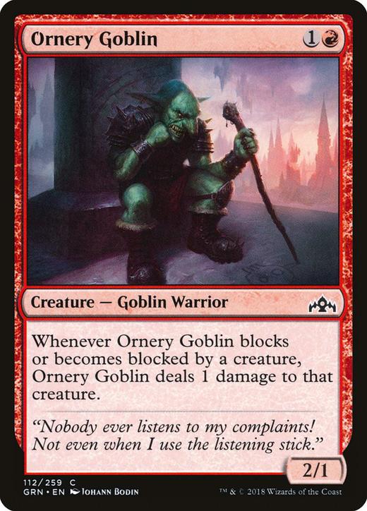Ornery Goblin image