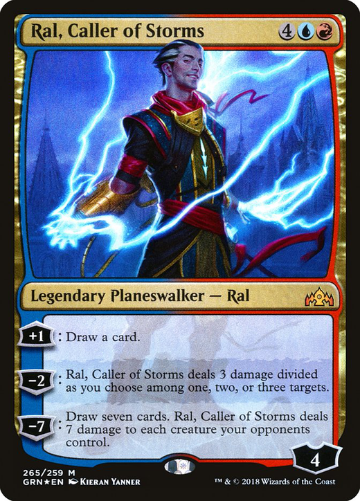 Ral, Caller of Storms image