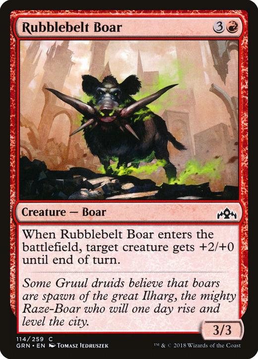 Rubblebelt Boar image