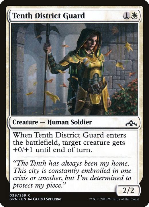 Tenth District Guard image