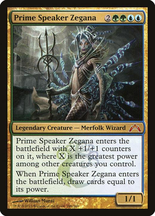 Prime Speaker Zegana image