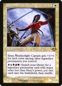 Sisay, Weatherlight Captain image