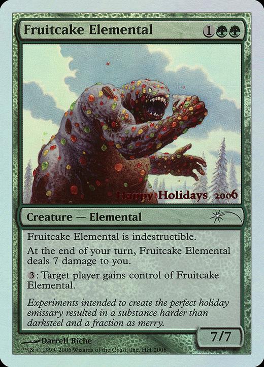 Fruitcake Elemental image