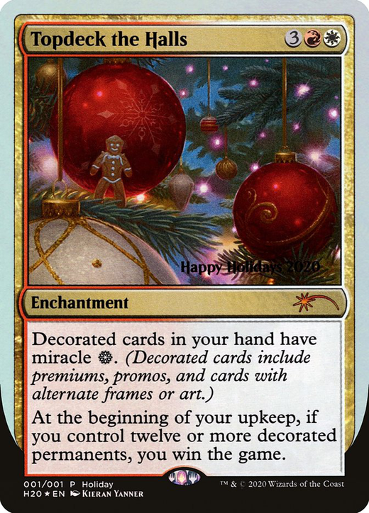 Topdeck the Halls image