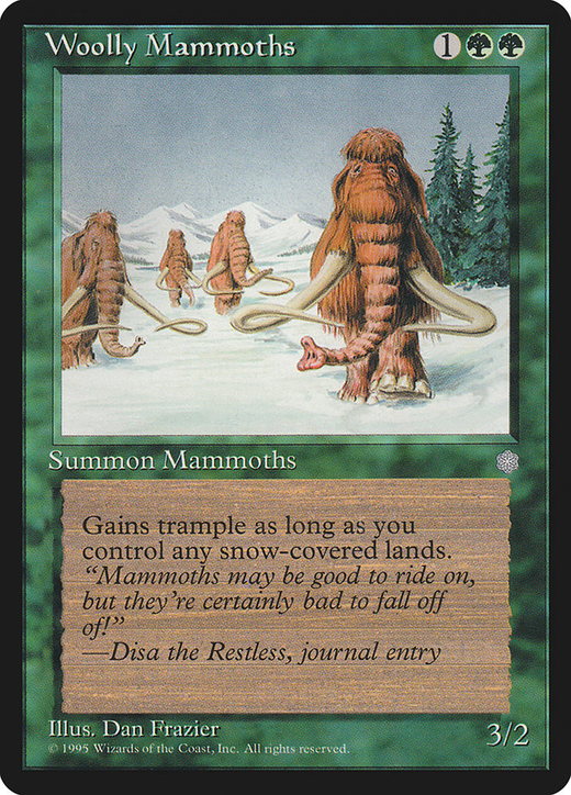 Woolly Mammoths image