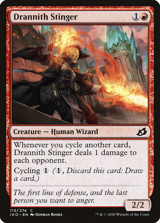 Drannith Stinger image