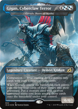 Gigan, Cyberclaw Terror image