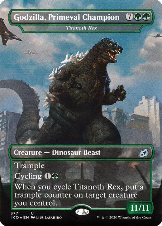 Godzilla, Primeval Champion image