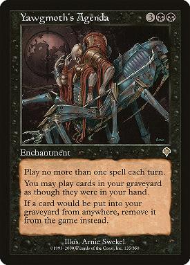 Yawgmoth's Agenda image