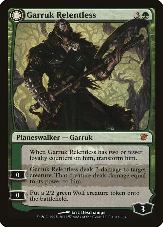 Garruk Relentless // Garruk, the Veil-Cursed?&width=200