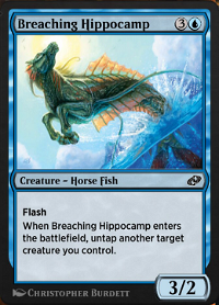 Breaching Hippocamp image