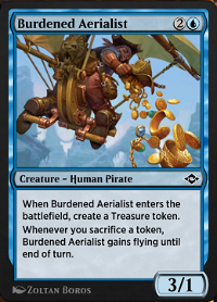 Burdened Aerialist image