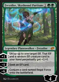 Freyalise, Skyshroud Partisan image